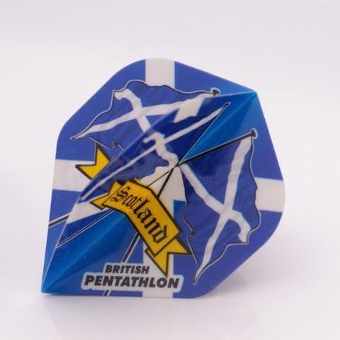 3 x SETS SETS SETS PENTATHLON Darts Flights Scotland Standard by PerfectDarts B00873D6ZI Parent | The Queen Of Quality  | Design moderno  | bello  | Impeccabile  | Lasciare Che Il Nostro Commodities Andare Per Il Mondo  | Di Alta Qualità E Poco Costoso  9457e3