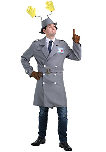 Inspector Gadget Outfit. Who can forget the antics of this clumsy detective? The cartoon series was originally shown on TV during the 80s, but continues to be very popular with kids and adults alike.