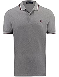 Fred Perry Fp Twin Tipped Fred Perry, Polo Homme, Bleu