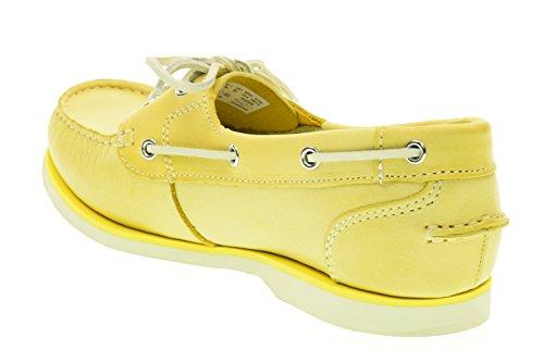 TIMBERLAND donna scarpe mocassini A14QA Giallo