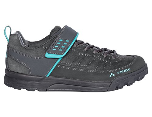 VAUDE Damen Women\'s Moab Low AM Mountainbike Schuhe, Grau (Iron 844), 41 EU