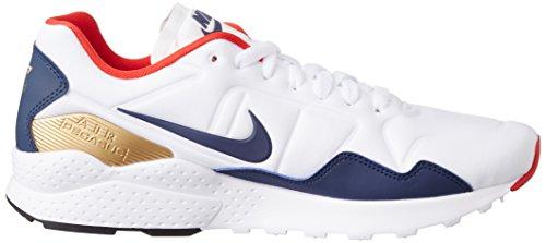 Sneaker Nike Air Zoom Pegasus 92 in tessuto bianco blu Weiß