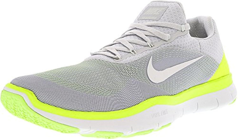 Nike Herren Free Trainer V7 Hellgrau Textil/Synthetik Trainingsschuhe