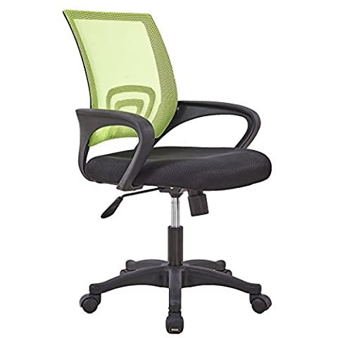 Medium Office Task Chair, Ventilating Mesh, Stylish Low Back Support, Adjustable Seat, Suit for Computer Desk Home Office Workstation