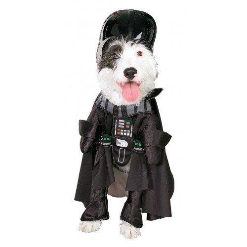 Official Haustier Hund Katze Star Wars Darth Vader Halloween Kostüm Kleid Outfit Kleidung S-XL - (Wars Star Katzen)