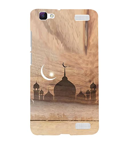 Fiobs Designer Back Case Cover for Vivo V1 Max (Eid Moon Chand...