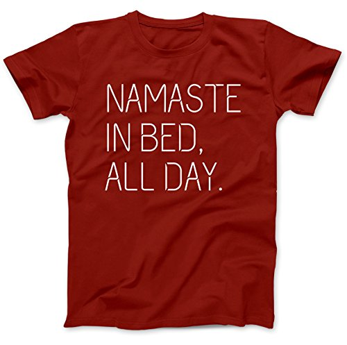 namaste-in-bed-buddhism-t-shirt-100-premium-cotton