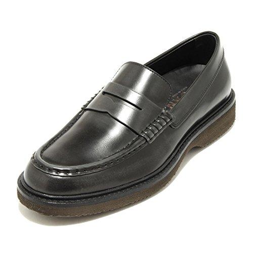 4700G mocassino uomo grigio HOGAN h 217 route scarpa loafer shoes men Grigio
