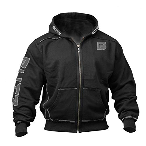 WuWangHai Fliegerjacke Britannia Winter Jacke Herren Winter Dick Gefüttert Militär Cargo Jacke Hoodies mit Multi Taschen