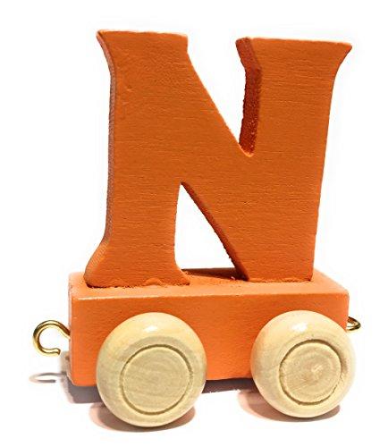 Spielzeug Buchstabenzug Holzzug Buchstaben Eisenbahn Geburtstagszug Holz Namen Zug ABC neu