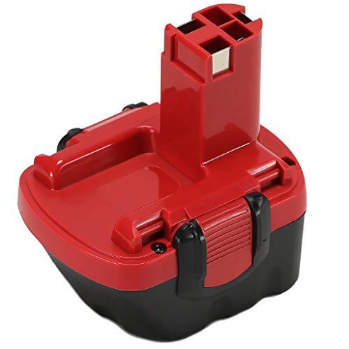 POWERAXIS 12V 3.0Ah NIMH Batteria di Ricambio per Batteria Bosch 12V PSR12 PSR12VE PSR12VE-2 GSR 12VE-2 GSB 12VE-2 ,2607335273, 2607335709, 2607335274, 2607335675, 2607335261, 2607335531,2607335542