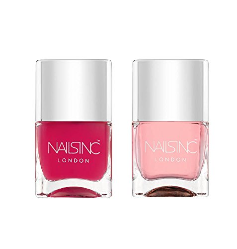 Nails Inc Kensington Caviar Duo Top e Base Coat Nail Polish