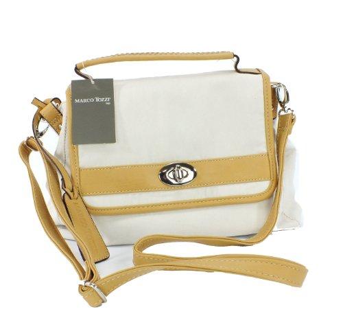Marco Tozzi TREND Handtasche Schultertasche weiß / beige Maße ca. 22x30cm Offwhite/Beige