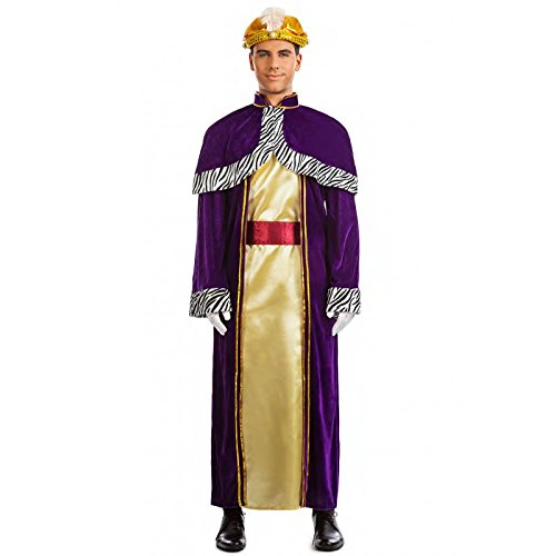 Imagen de disfraz rey mago baltasar talla m l