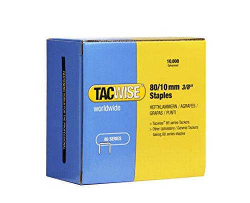 Tacwise 0383 Grapas galvanizadas de tipo 80/10 mm