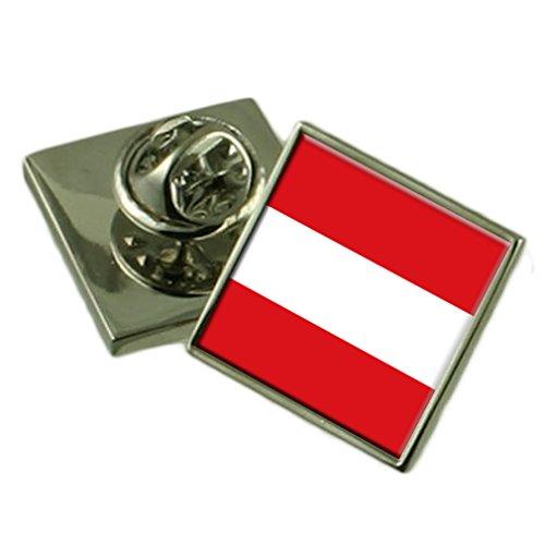 Leuven City Belgium Flag Lapel Pin Badge Pouch
