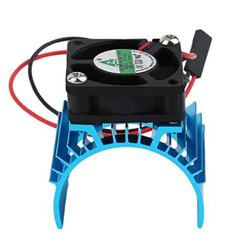 Durable Brushless Heatsink Kühler und Lüfter Kühl Aluminium 550 540 3650 Größe Sink Abdeckung Elektromotor für RC HSP Modell (blau) - Rc-brushless-elektromotoren