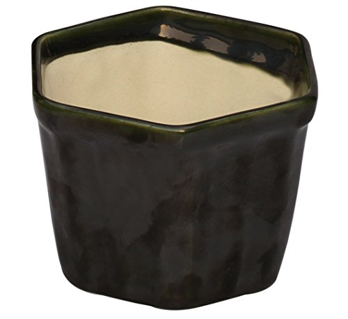 special-discount-planters-souvnear-31-herb-planter-ceramic-handmade-pot-in-olive-green-window-plante