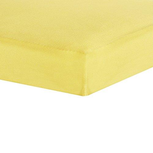 Sábana bajera Trois Kilos Sept con colores y tamaños diferentes. amarillo Talla:60 x 120 cm