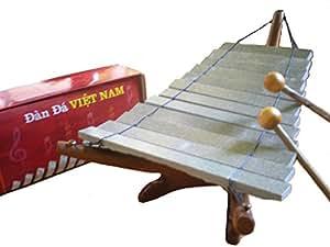 Salon vietnamien du Commerce Pierre Xylophone / Dan Da / Glockenspiel