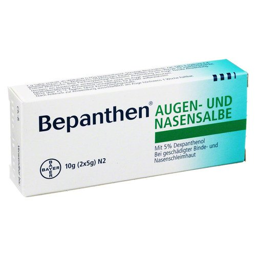 BEPANTHEN AUGEN+NASENSALBE