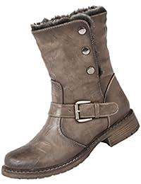 e6a7dc25314 Amazon.es  Botas Moteras  Zapatos y complementos