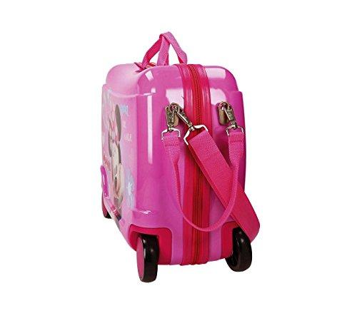 41NjXa2VXRL - 2899951 Maleta trolley correpasillos en ABS equipaje MINNIE MOUSE 50x39x20cm