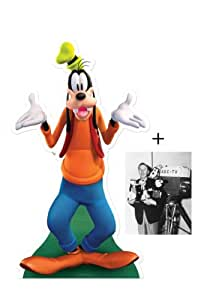 *FAN PACK* - Goofy (Disney) LIFESIZE CARDBOARD CUTOUT (STANDEE / STANDUP) - INCLUDES 8X10 (25X20CM) STAR PHOTO - FAN PACK #331