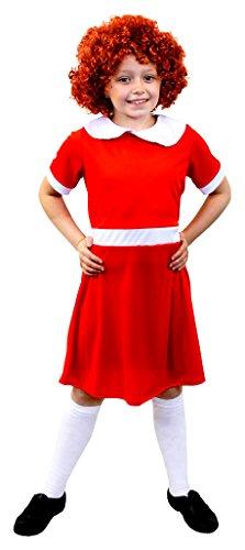 (ILOVEFANCYDRESS I Love Fancy Dress ilfd7073l Mädchen Little Orphan Kleid (groß))