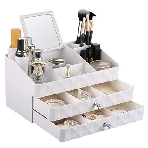 Rackaphile-Organizador-De-Maquillaje-3-Tier-2-Cajones-Joyero-de-Mujer-Organizador-de-Joyeras-Joyero-Organizador-Cosmticos-3018165-cm-color-Blanco