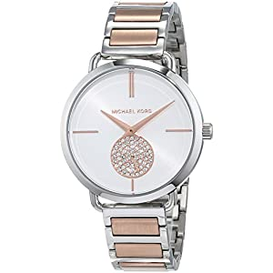 Michael Kors Women's Analog Quartz Watch with Stainless Steel Strap MK3709