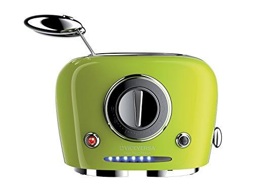 Vice Versa Designtoaster,TIX Sandwichtoaster,Toaster, Farbe limettengrün