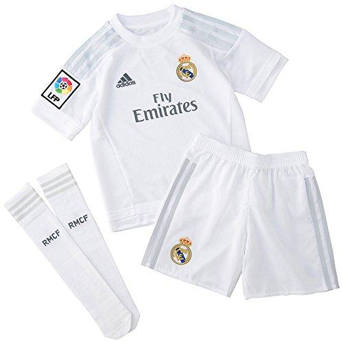 adidas 1ª Equipación Real Madrid CF SMU Mini – Conjunto
