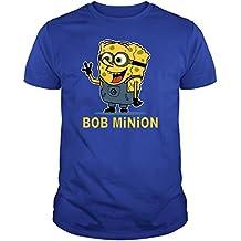 The Fan Tee Camiseta de NIÑOS Minions Bob Esponja GRU