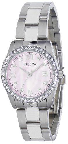 Rotary lb02343/07–Orologio, cinturino in acciaio inox colore argento