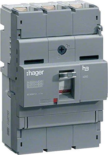 HAGER X250 - INTERRUPTOR MANIOBRA SECCIONADOR X250 3 POLOS 250A