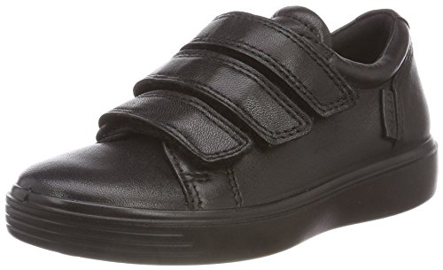 ECCO Boys S7 Teen Low-Top Sneakers, Black (Black 51052), 9/9.5  Child UK (27 EU)