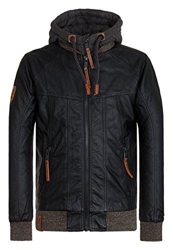 Naketano Male Jacket Hobbygangster Black, L
