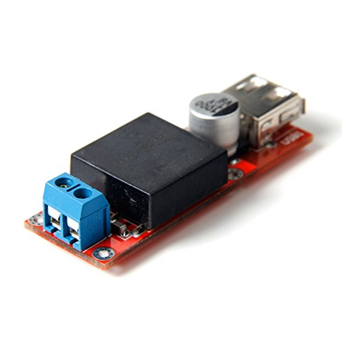 KIS3R33S 5V USB DC 7V-24V to 5V 3A Step-Down Buck Module For Phone MP3 MP4 PSP