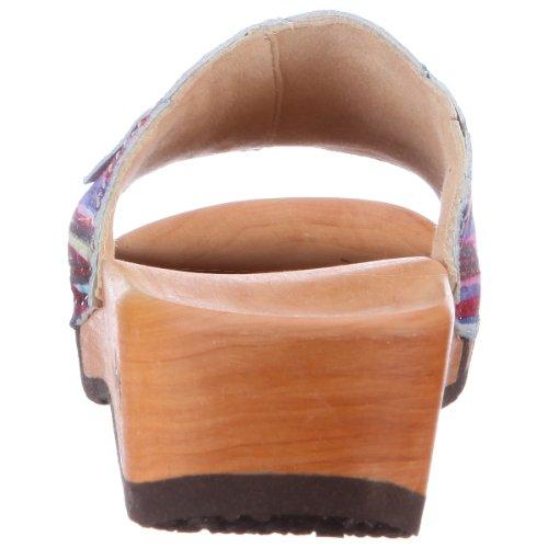 Woody Vanessa 404, Chaussures femme Violet - Violett/Bianco