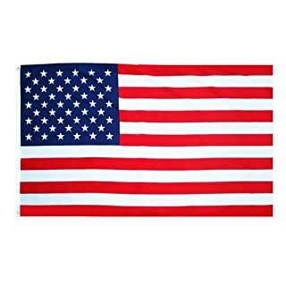 USA Flag America Flag with Eyelet 90x 150cm - Abasonic by Abasonic