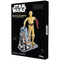 Metal Earth mmg276502667Star Wars R2-D2e C-3PO costruzione giocattoli