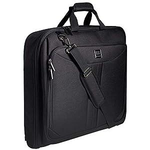 Reise Kleidersack, Anzughülle für 3 Anzüge, Anzugtasche für Herren mit Stärkster Haken, großer Reisetaschen…