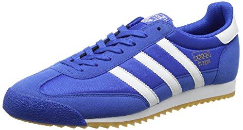 ADIDAS ORIGINALS Dragon OG Sneaker Herren, Blau (Blue/Ftwr White/Gum 3), 39 1/3 EU