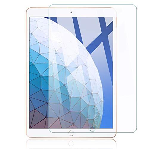 Voviqi Panzerglas Schutzfolie kompatibel mit iPadAir3 201910.5, 9H verbesserte gehärtetes Glas Folie [HD Kristallklar Blasenfrei Kratzfest] Bildschirmschutzfolie für iPadAir3 201910.5, 1 Stück