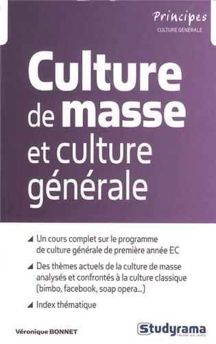 Culture de masse et culture gnrale