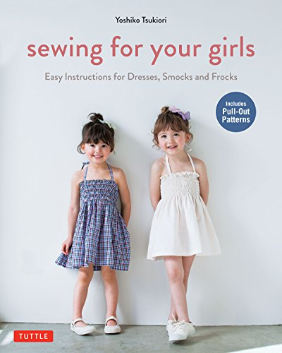 Sewing For Your Girls: Easy Instructions for Dresses, Frocks and - Adult Girl Kostüm