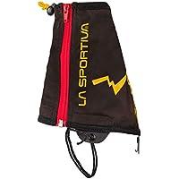 La Sportiva Winter Running Gaiter Black/Yellow - Cubre Botas Alpinismo, Unisex Adulto, (Black/Yellow)