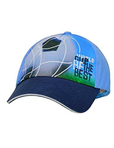 maximo Jungen Kappe Cap World Cup, Blau (Adria/Navy 4548), 51/53