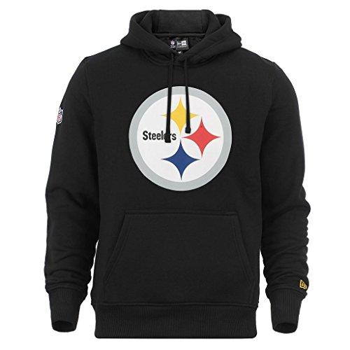 """New Era """"NFL Team Logo Pittsburgh Steelers"""" Hoodie - black - M"""